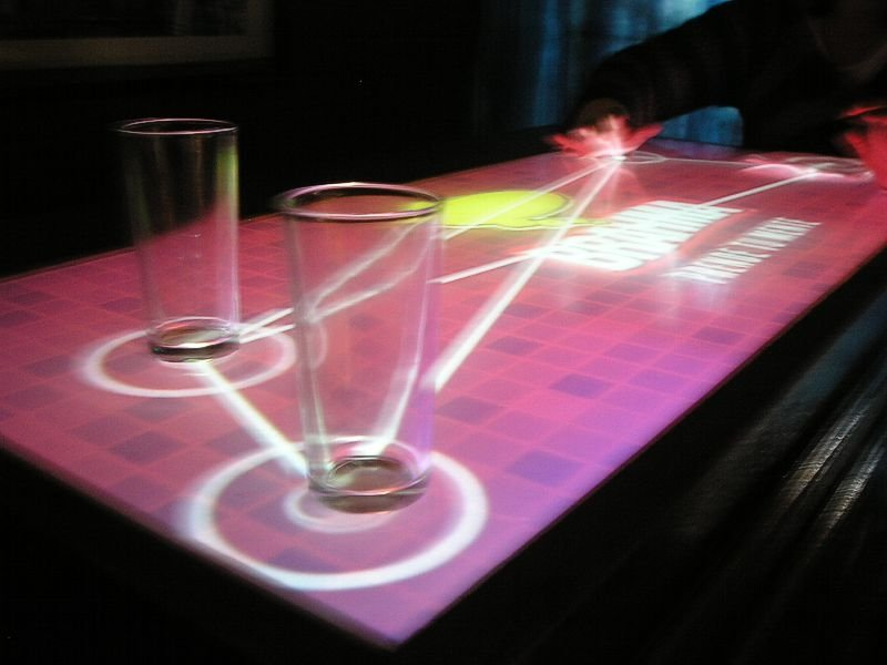 Interactive Multi Touch Screen
